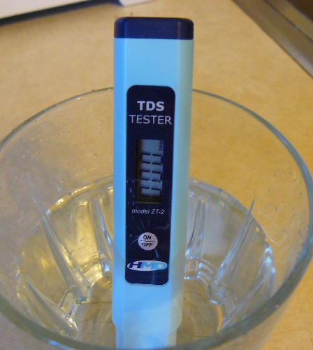 Water Filtered With ZeroWater 000 TDS