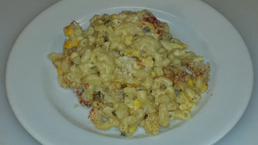 Jalapeno and Sweet Corn Macaroni & Cheese